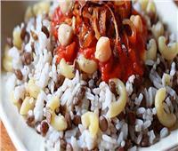 «صحن الكشري» أكلة المصريين اللذيذة.. نقلها أحدهم إلى بغداد