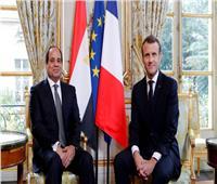 ماكرون: فرنسا ومصر واجهتا الإرهاب.. ولا يمكن فصل الأمن عن حقوق الإنسان