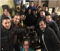 صور| محمد حماقي يحتفل بنجاح ألبومه الجديد