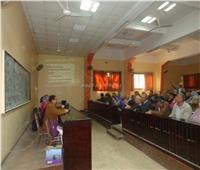 تنمية المشاريع الريفية في قافلة بجامعة المنوفية