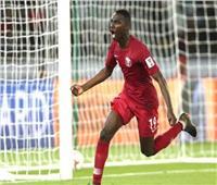 كأس آسيا 2019  السوداني المعز علي يسجل الهدف الثاني لقطر أمام الإمارات
