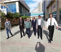 جولة ميدانية لرئيس هيئة موانئ البحر الأحمر بميناء الغردقة البحري