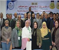عبد الغفار يتلقى تقريراً بتوصيات المؤتمر الدولي لتطوير التعليم العالي