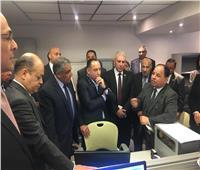 وزير المالية يتفقد تجهيزات مركز الخدمات اللوجيستية بمطار القاهرة الدولي