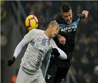 مباراة إنتر ولاتسيو تتجه للوقت الإضافي في كأس إيطاليا