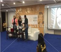 حضور جماهيري كبير لحضور تكريم ليلى علوي في معرض الكتاب