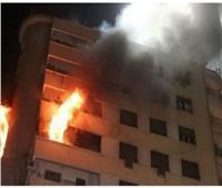 الدفع بسيارتين إطفاء للسيطرة على حريق بعقار بالصف