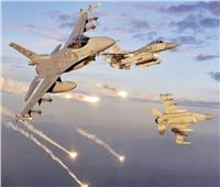 التحالف العربي يشن غارات على مليشيا الحوثي في محافظة حجة