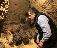 وزير الآثار: اكتشاف ٤٠ مومياء في أول كشف اثري لعام ٢٠١٩