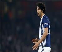 أحمد حجازي يقود دفاع «ويست بروميتش» أمام ميدلزبره