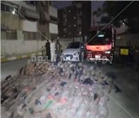 فيديو| ضبط  105 كيلو جرام من مخدر الحشيش