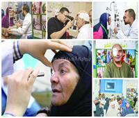 صور| «نور حياة».. تضيء عيون المصريين.. و«تحيا مصر»: نستهدف 7 ملايين مواطن