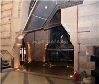 مدبولي وعبدالدايم والقاسمي يفتتحون مبنى دار الكتب بباب الخلق بعد ترميمه