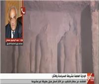 فيديو| خبير أمني: التنقيب عن الآثار بالمنازل يهدر الحضارة المصرية