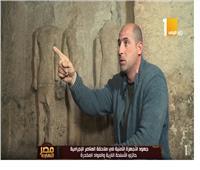فيديو| إحباط محاولة تهريب أثار بمنطقة الهرم بالجيزة