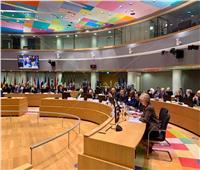 كلمة وزير الخارجية أمام الاجتماع الوزاري العربي الأوروبي ببروكسل