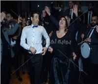 صور  كوكبة فنية بزفاف «أحمد وألحان».. الصغير وفيفي عبده وأوكسانا نجوم الحفل