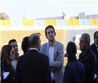 صور| «محمد فضل» يتفقد ستاد الإسماعيلية استعدادًا لكأس الأمم الإفريقية