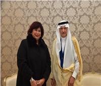 وزير الثقافة تلتقي أمين عام منظمة التعاون الأسلامي