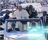 بث مباشر| وصول البابا فرنسيس إلى مدينة زايد الرياضية لرئاسة القداس