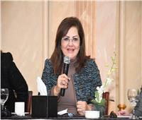 وزيرة التخطيط تلتقي أمين مجلس رعاية أسر الشهداء والمصابين