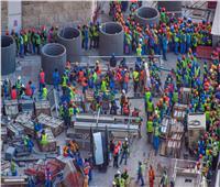 العفو الدولية: قطر تخالف وعودها..وظروف العمال الأجانب لاتزال «قاسية»