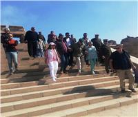 الرئيس الفرنسي الأسبق بعد زيارة أسوان: «مصر جميلة»