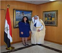 وزيرة السياحة تستقبل أمين عام منظمة التعاون الإسلامي لبحث سبل التعاون