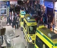 مصرع وإصابة 13 شخصًا في انهيار عقار بالأقصر