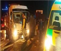 بالأسماء.. إصابة 10 مواطنين في حادث سير أمام قرية الروضة،