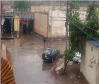 أمطار متوسطة على مراكز ومدن محافظة الغربية