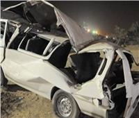بالأسماء| إصابة 15 شخصًا بانقلاب «ميكروباص» في بني سويف