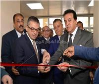 صور| وزير التعليم العالي يشهد الافتتاحات الجديدة بعين شمس التخصصي