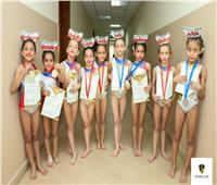 لاعبات وادي دجلة تحصدن ميداليات بطولة الجمهورية للجمباز الإيقاعي