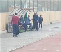 جيلبرتو يحضر مران الأهلي قبل مواجهة حرس الحدود