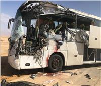 ننشر الصور الأولى من حادث طريق شرم الشيخ