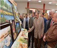 محافظ أسيوط يفتتح معرض منتجات طلاب «التعليم الفني»
