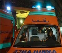 بالأسماء| إصابة 11 شخصًا في حادث تصادم بالمنيا