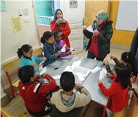 البيئة تنظم يوما بمركز شباب صنافير ومدرسة السلام ببولاق