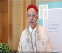 فيديو| المستاوي: مؤتمر الأخوة الإنسانية مبادرة تاريخية شجاعة للطيب