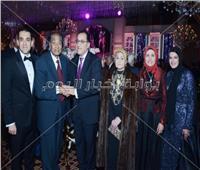 صور  المشير طنطاوي ومصطفى مدبولي يحتفلان بزفاف ابن رئيس العاصمة الإدارية