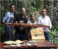 فيديو وصور| «الأكل مذاهب».. الشيف جيمي ينافس «بوراك التركي» بأطول سيخ كفتة