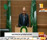فيديو|أبو الغيط: علاقات تاريخية تربط بين الجامعة العربية والاتحاد الأفريقي
