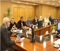 رئيس جامعة المنصورة يلتقي باللجنة العليا لمهرجان ٨٠٠ سنة منصورة