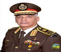 وزير الدفاع يزور مصابي القوات المسلحة بالمجمع الطبي بكوبري القبة