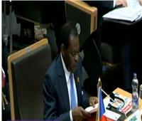 رئيس غينيا: نعمل على معالجة الأسباب الجذرية للنزوح القسري