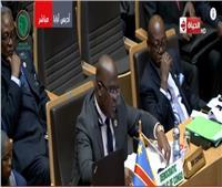 فيديو| رئيس جمهورية الكونغو:  السيسي قادر على قيادة المنظمة بقوة
