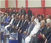 صبحي وحطب يحضران افتتاح البطولة العربية لشباب الملاكمة