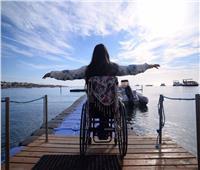 حكايات | باراليمبية تتحدى أطبائها.. آية تحلم بعبور «المانش»
