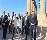 وزيرة السياحة تقوم بأول زيارة لمحافظة الأقصر